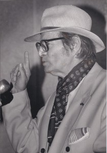 Boeli van Leeuwen - foto Walter Spencer. maart 1992