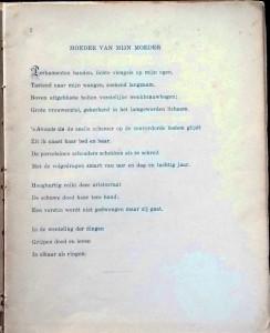 Boeli van Leeuwen - gedicht in Tempels in woestijnen - 1947