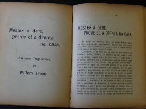 W. Kroon - Mester a dere - openingspagina