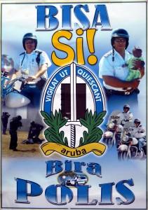 Poster Politie Aruba - 2010 - J.C. Larmonie