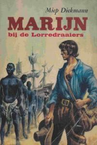 omslag Marijn bij de lorredraaiers - uitgeverij Leopold - Den Haag - vijfde druk 1979 - red.1