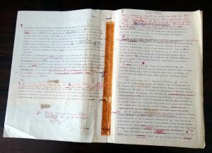 Boeli van Leeuwen - typoscript 30 mei - foto res.  A.G. Broek - nov. 2012 - res. 2