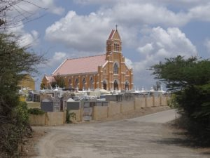 The Sint-Willibrordus church, Curaçao