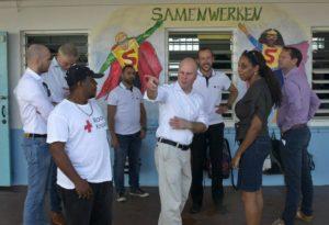 Staatssecretaris Raymond Knops op werkbezoek in Curaçao / ministerie van Binnenlandse Zaken en Koninkrijksrelaties